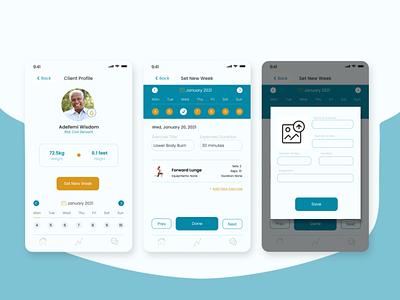 Sthenollos-Client fitness ux mobile app uiux design ui
