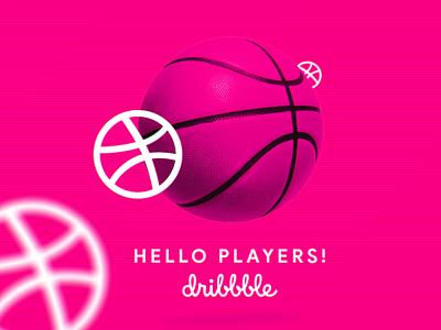 Hello Dribbble! design debut debutshot