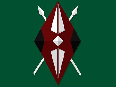 Kenya Shield debut geometric shield nairobi kenya