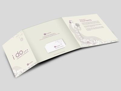 Wedding Trifold brochure weddings brochure trifold