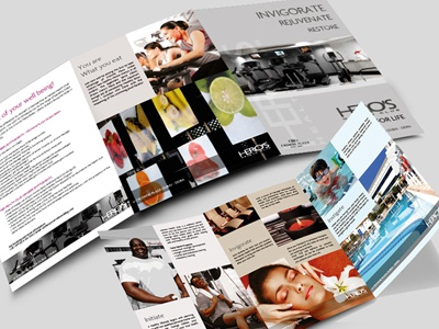 Heroes  health club trifold heroes cpdeira trifold brochure