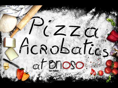Pizza Acrobatics  italian cuisine eatitalian foodie culinary arts acrobatics pizza