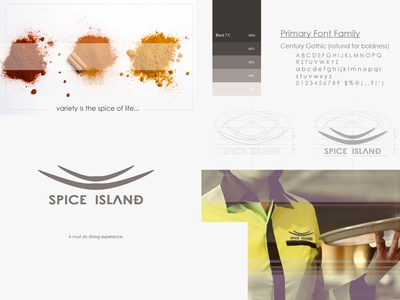 Rebranding Spice Island (finished project) art direction re-branding logo