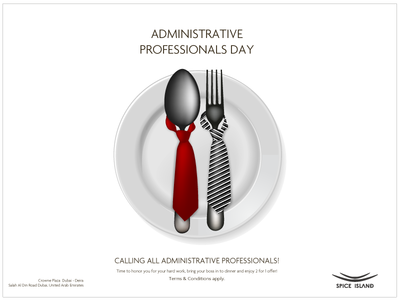 Admin Day Dining Offer restaurant dining adminday