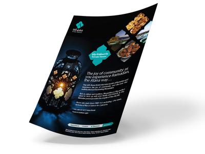 Ramadan Flyer omani cuisine atana hotels iftar ramadan