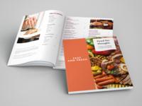 In-room Menu design menu design food photography