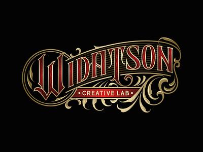WIDATSON tattoo design typedia logotype typogaphy handlettering lettering