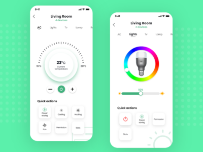 Smart home automation app design android iosapp trending trend minimalist clean modern uidesign uxdesign appdesign ux ui ios