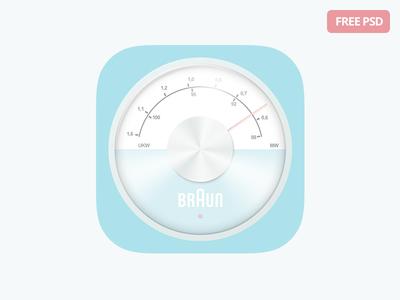 Free iOS Radio Icon