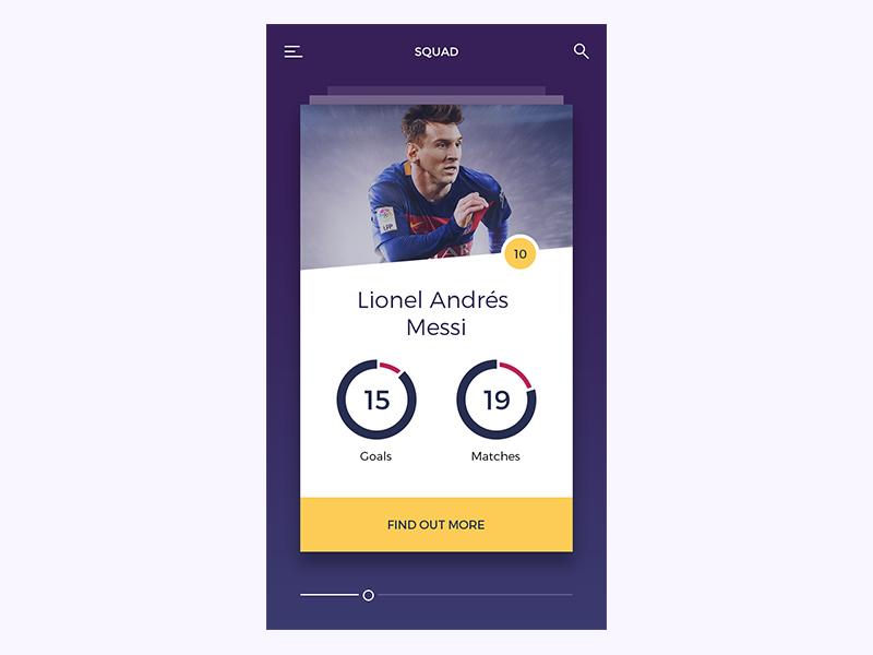 FC Barcelona App suarez squad neymar mobile messi football fc cards barcelona barca app clean