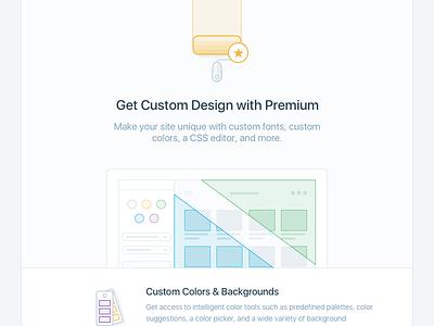 Custom Design feature premium custom design figure illustration