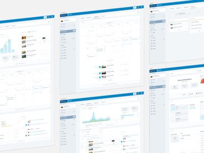 Posts Concepts graph activity calendar schedule dashboard ui