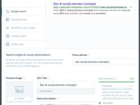 Seo social optimizations