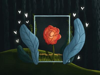 Artboard Bounds flower forest boundaries artboard editorial