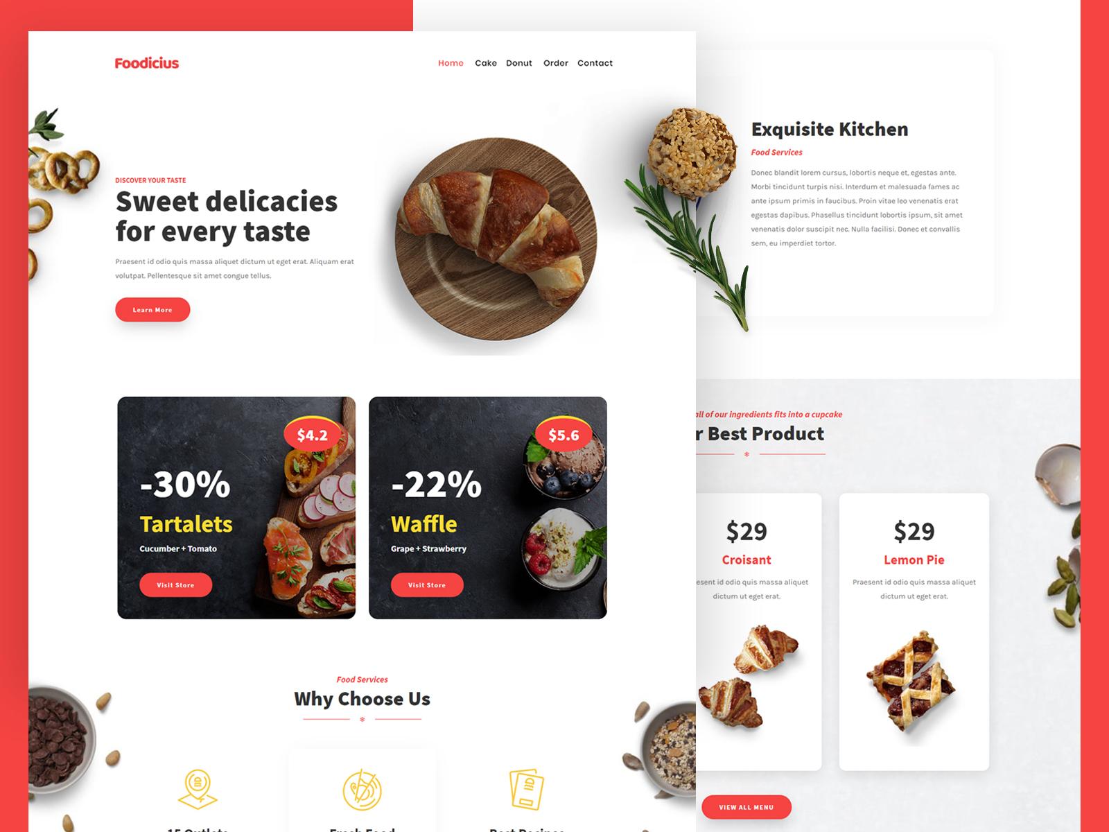 Fooditi by Tokokoo on Dribbble
