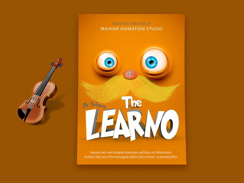 3d Animation Movie Poster