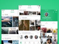 MemoryWeb iOS app