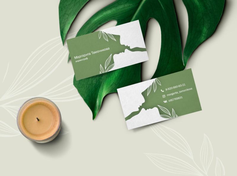 Feminine Business Card Mockupd