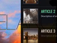 Articles UI