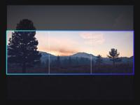 Gradient + Crop UI