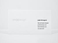 Self Branding — Business Card