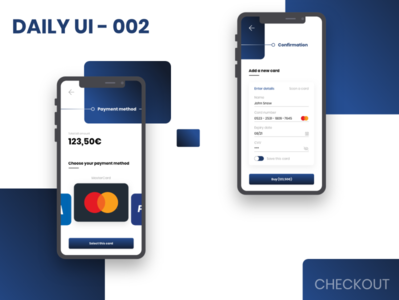 Daily UI - 002 - CHECKOUT