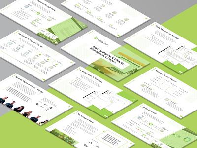Sales Presentation Deck - Midigator software layout design design pitch deck marketing sales indesign slides graphic design presention
