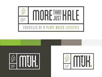 Logo Concept for Vegetarian Blog - More Than Just Kale