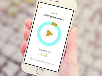 Audio Screen for iOS App