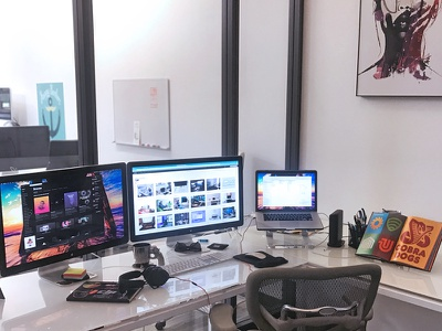 The Workspace web design design draplin moleskin macbook apple office workspace