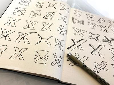 X-Icon Sketches