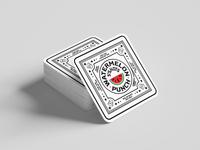 Watermelon Punch Coaster for S*Shots typography branding cannabis branding print coaster cannabis thc