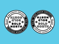 Twin Cities BOLD NORTH coasters