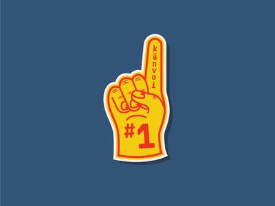 Känvoi Foam Finger