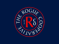 The Rogue Cooperative circle badge
