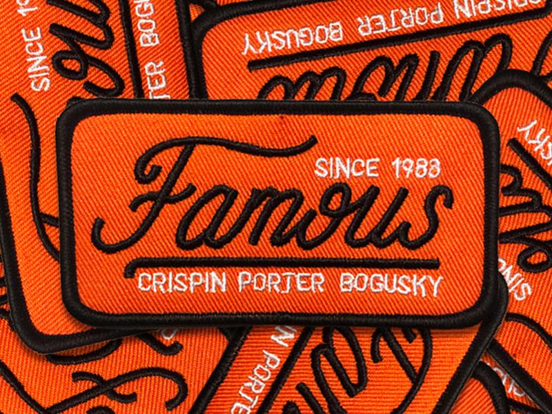 Famous famous patch
