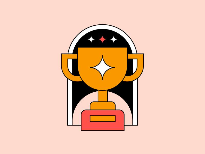 Hero design badge graphic branding illustration logo icon design icon set iconography icon