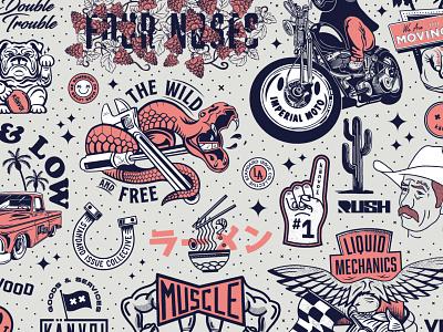 2019 Känvoi Illustration Flash Poster flash icon typography identity design badge branding graphic lockup illustration logo