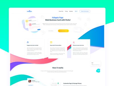 Hubgets Webdesign - Collaboration software