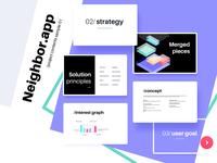Client presentation sample : Neighbor.app