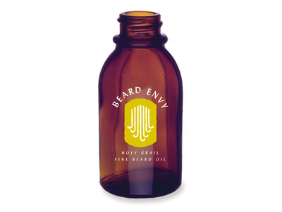 Beard Envy packaging bottle oil beard