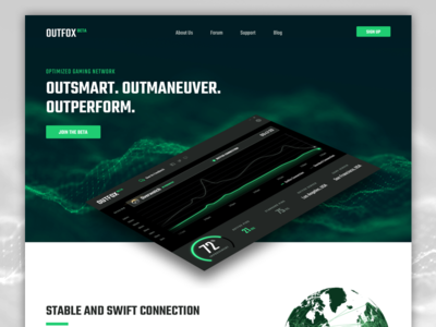 Outfox Beta Website outfox network gaming