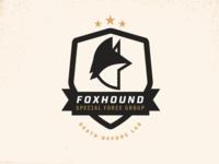 Foxhound Badge