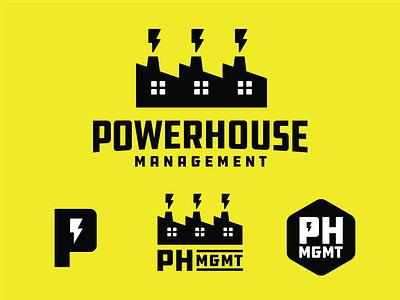 Powerhouse Logo Marks logo power powerhouse