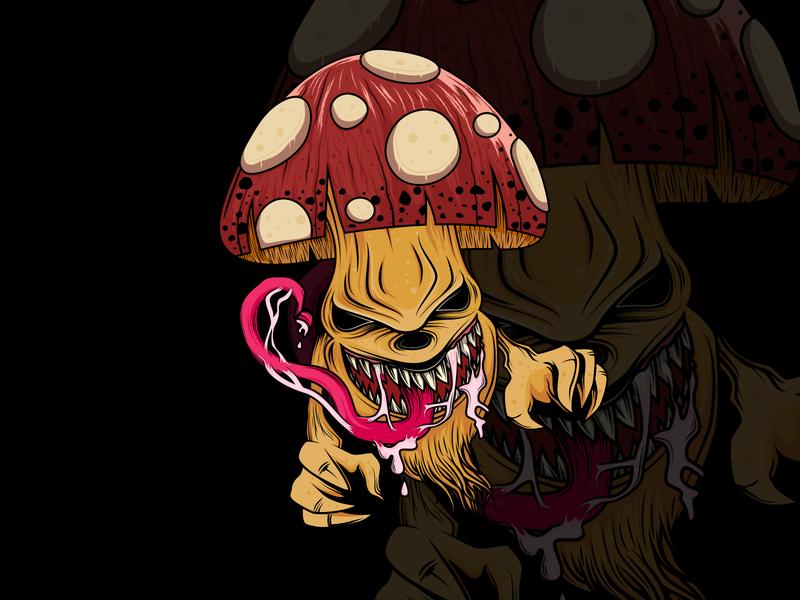 zombie mushroom