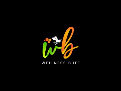Wellness Buff logo illustrator illustration design logo adobe illustrator vector