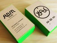 Self Re-branding (before & after) // ADSR Designs