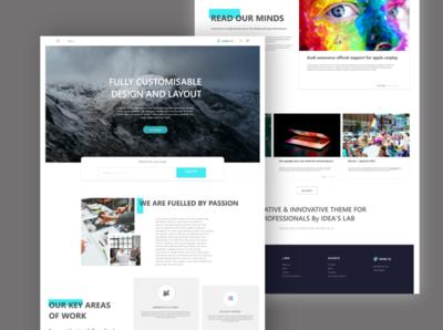 DEASE - Modern, creative, and clean  Web design.