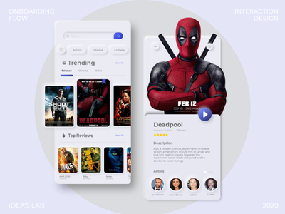 Neumorphism Movie app clean creative minimal classy movie app 2020 trend 2020 trend ux ui appui app app ui 2020