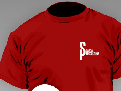 SP Logo Placement logo design t-shirt cap business cards.